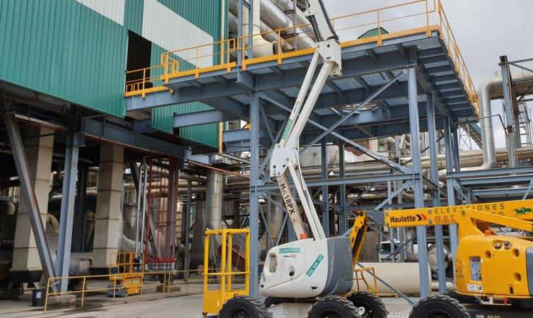 Entreplanta para industria maderera